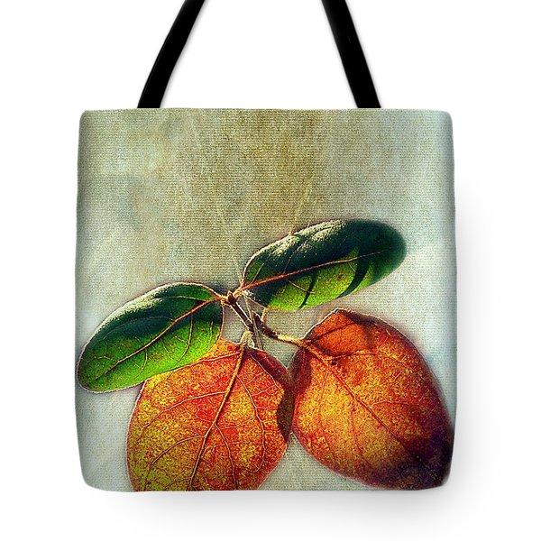 Memory Of Leaves Tote Bag by Judi Bagwell