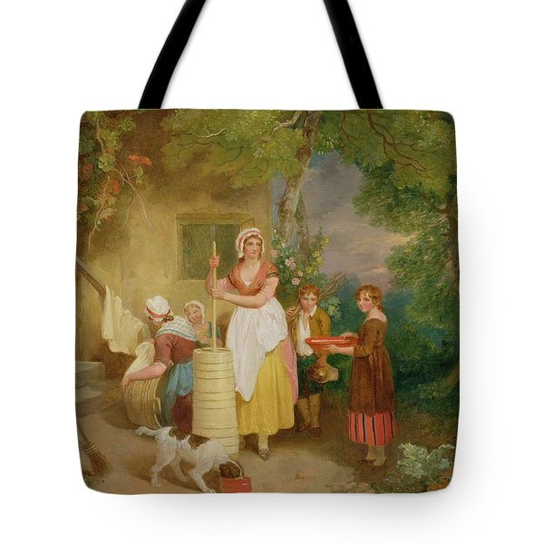 Morning Tote Bag by Francis Wheatley