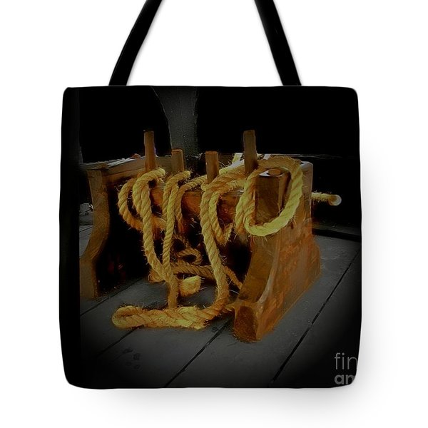Notorious The Pirate Ship 2 Tote Bag by Blair Stuart