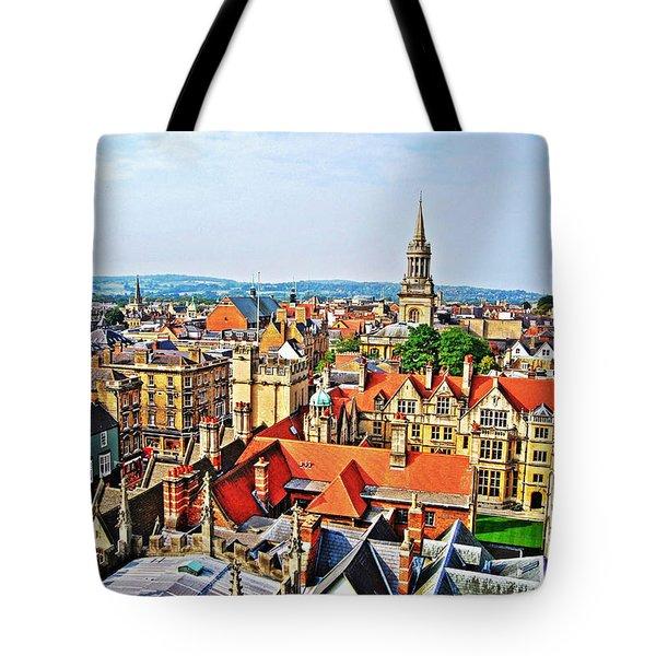 Oxford Cityscape Tote Bag
