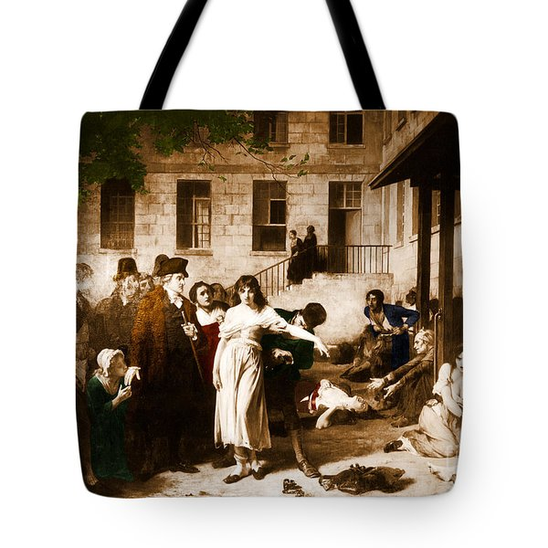 Pitie-salpetriere Hospital, 1795 Tote Bag by Photo Researchers