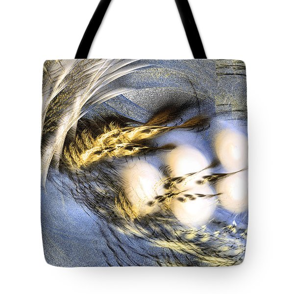 Promise Me Spring Will Come - Abstract Art Tote Bag