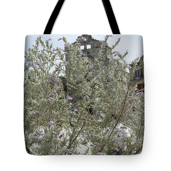 Santa Lucia Alla Badia Church Tote Bag