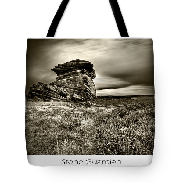 Tote Bag featuring the photograph  Stone Guardian by Beverly Cash
