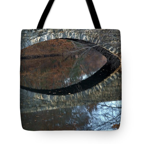 Stone Reflection Tote Bag