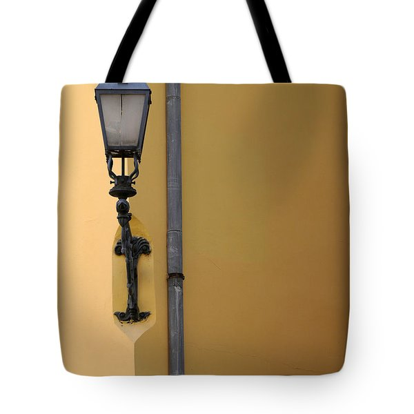 Street Lamp Tote Bag by Odon Czintos