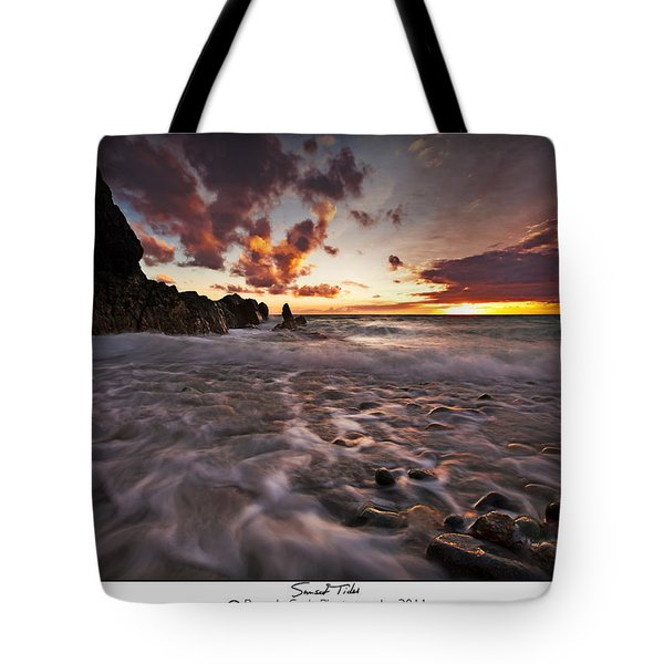 Sunset Tides - Porth Swtan Tote Bag