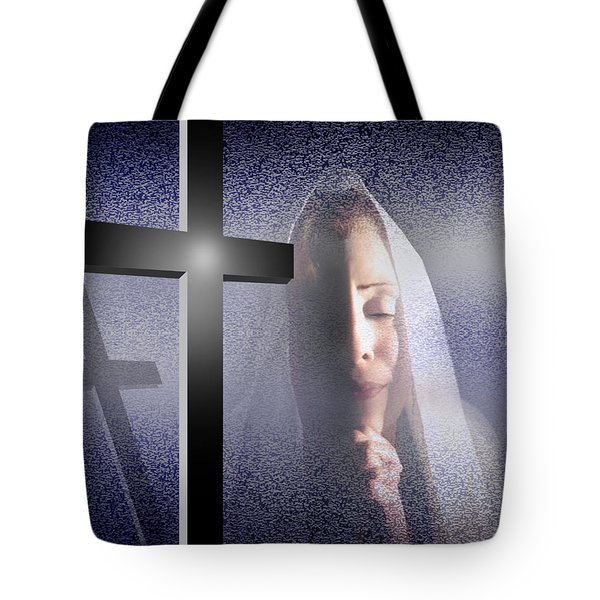 Supreme Blessedness Tote Bag by Reggie Duffie