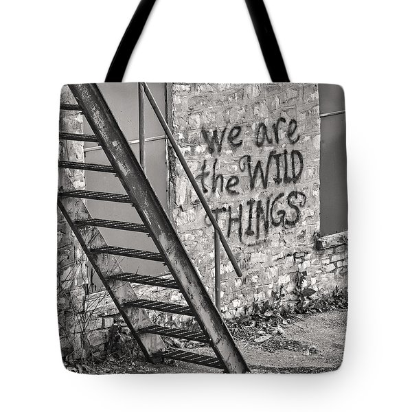 Tote Bag featuring the photograph  The Hespeler Wilds by Traci Cottingham