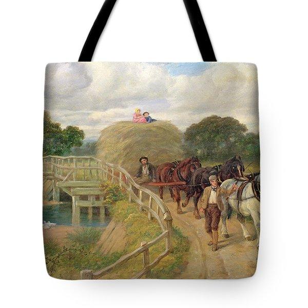 The Last Load  Tote Bag by Philip Richard Morris