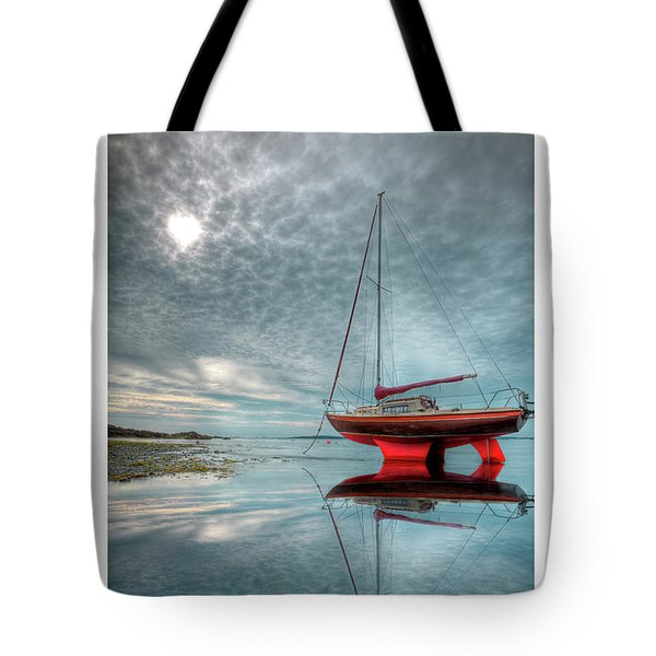 Tote Bag featuring the photograph  Waiting For The Tide by Beverly Cash