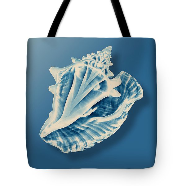 X-ray Of A Conch Shell Tote Bag by Mark Greenberg