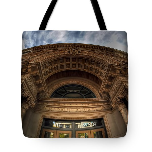 008 Architectural Beauty Of Downtown Buffalo Series Tote Bag by Michael Frank Jr