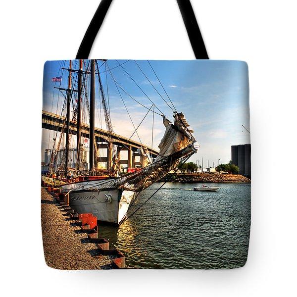 026 Empire Sandy Series  Tote Bag by Michael Frank Jr