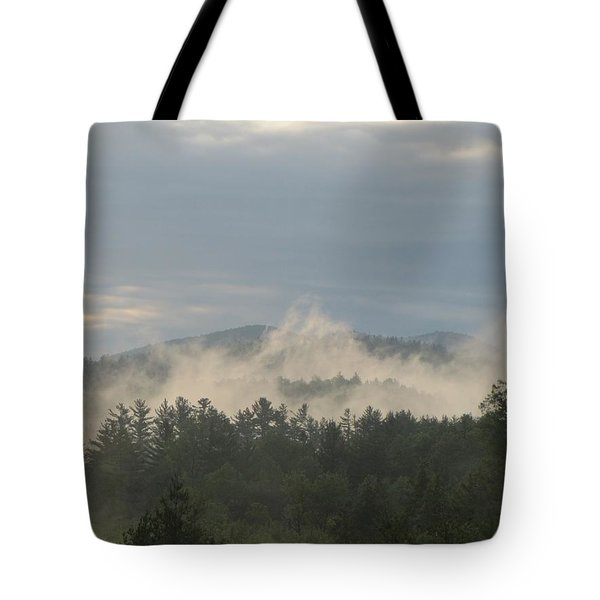 Tote Bag featuring the photograph 0526 Am  by Maciek Froncisz