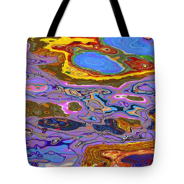 0620 Abstract Thought Tote Bag by Chowdary V Arikatla