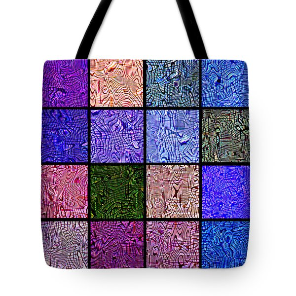 0663 Abstract Thought Tote Bag by Chowdary V Arikatla