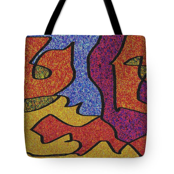 0664 Abstract Thought Tote Bag by Chowdary V Arikatla