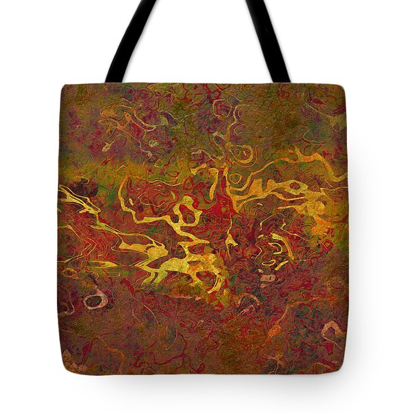 0694 Abstract Thought Tote Bag by Chowdary V Arikatla
