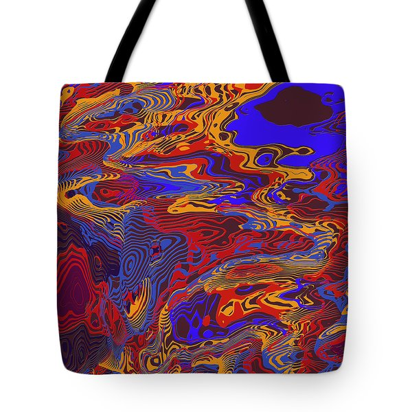 0696 Abstract Thought Tote Bag by Chowdary V Arikatla