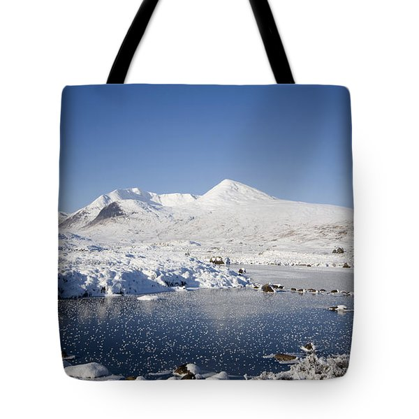 Rannoch Moor Tote Bag by Pat Speirs