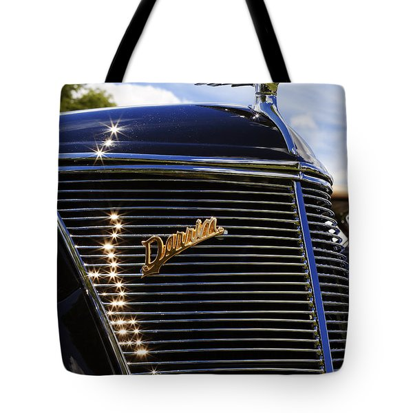 Tote Bag featuring the photograph 1937 Ford Model 78 Cabriolet Convertible By Darrin by Gordon Dean II