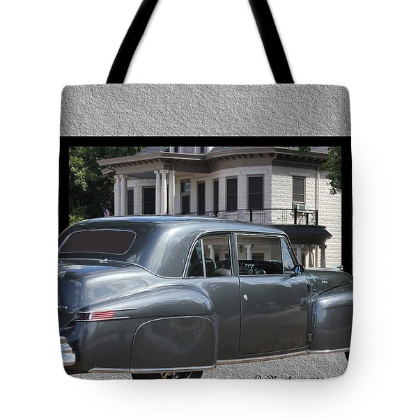 1947 Lincoln Continental Coupe Tote Bag