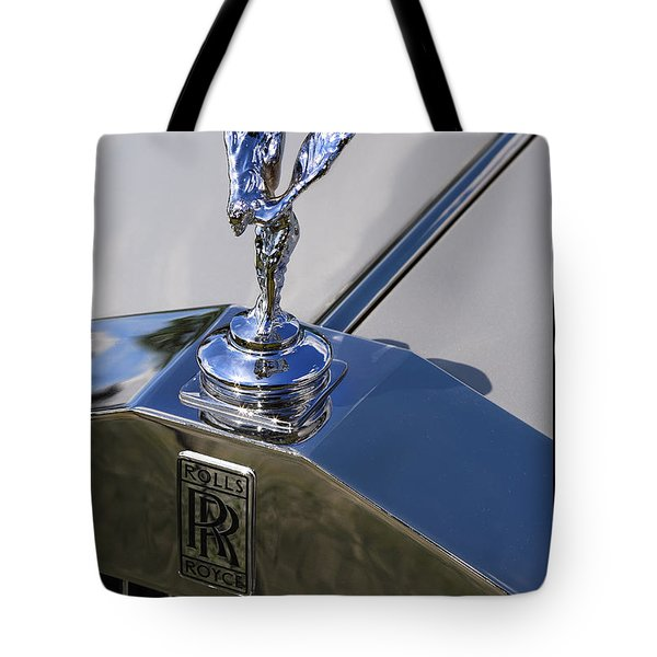 Tote Bag featuring the photograph 1965 Rolls Royce Silver Cloud IIi Mpw Coupe by Gordon Dean II