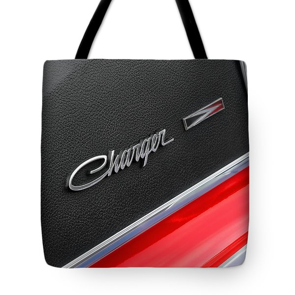 1967 Dodge Charger Tote Bag by Gordon Dean II