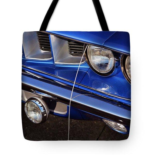 1971 Plymouth Hemicuda Tote Bag by Gordon Dean II