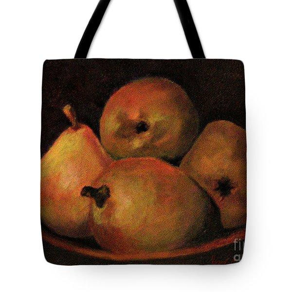 4 Pears Tote Bag