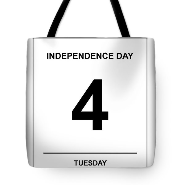 4th July Tote Bag by Henrik Lehnerer