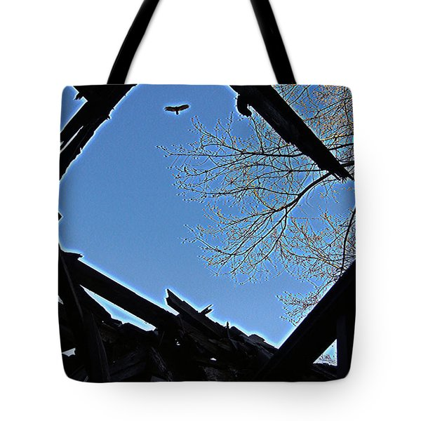 Above It Tote Bag