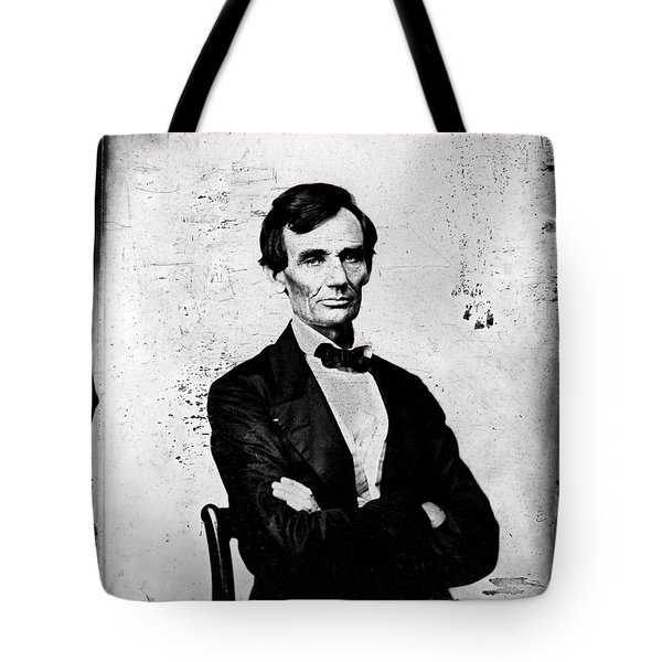 Abraham Lincoln, 16th American President Tote Bag by Photo Researchers