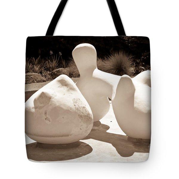 Abstract American Art Tote Bag