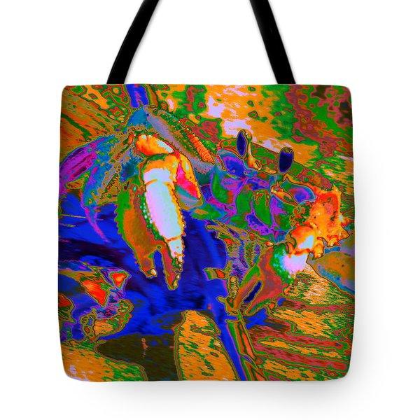 Abstract Crab 2 Tote Bag