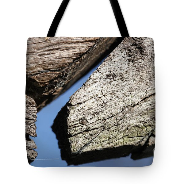 Tote Bag featuring the photograph Abstract With Angles by Todd Blanchard
