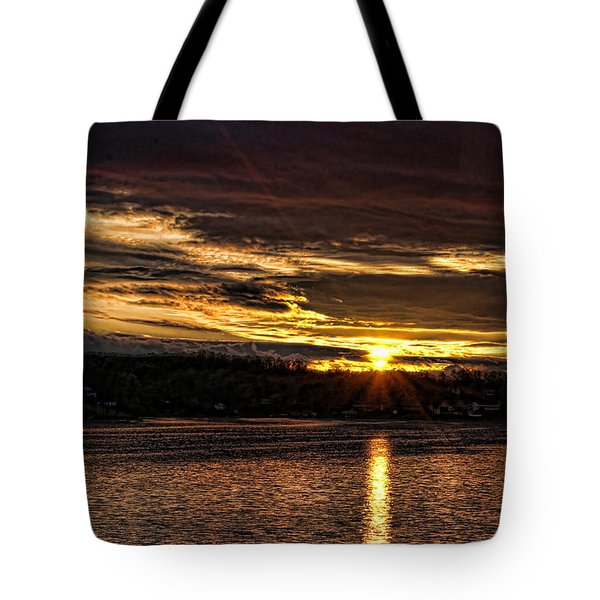 After The Storm Tote Bag by Rick Friedle