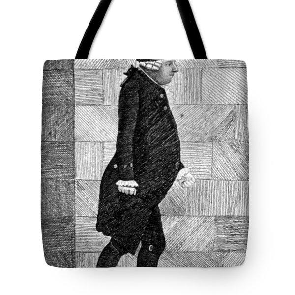 Alexander Monro II, Scottish Anatomist Tote Bag by Science Source
