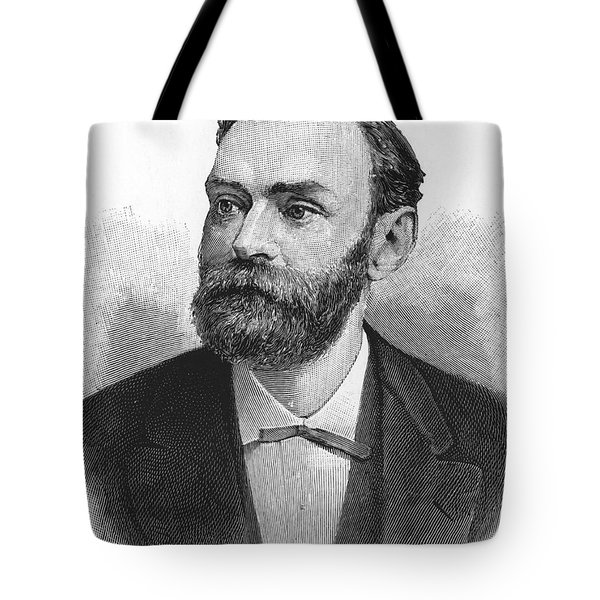Alfred Nobel, Swedish Chemist Tote Bag by Science Source
