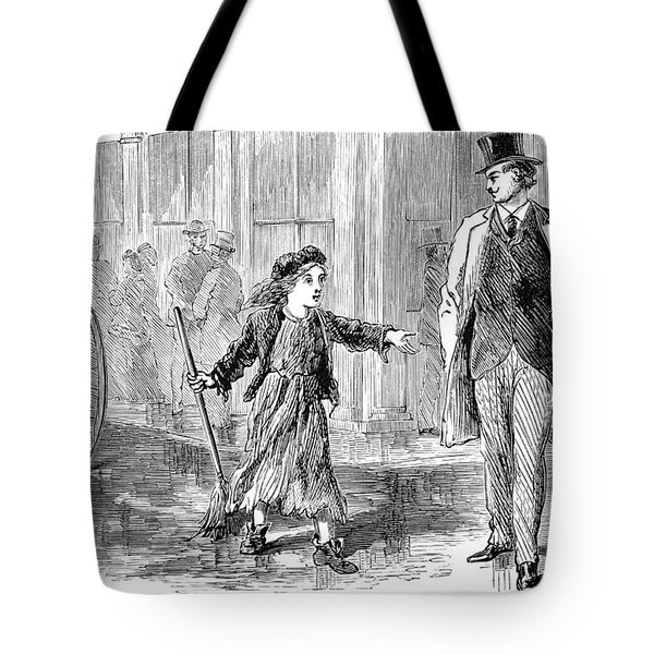 Alger: Tattered Tom Tote Bag by Granger