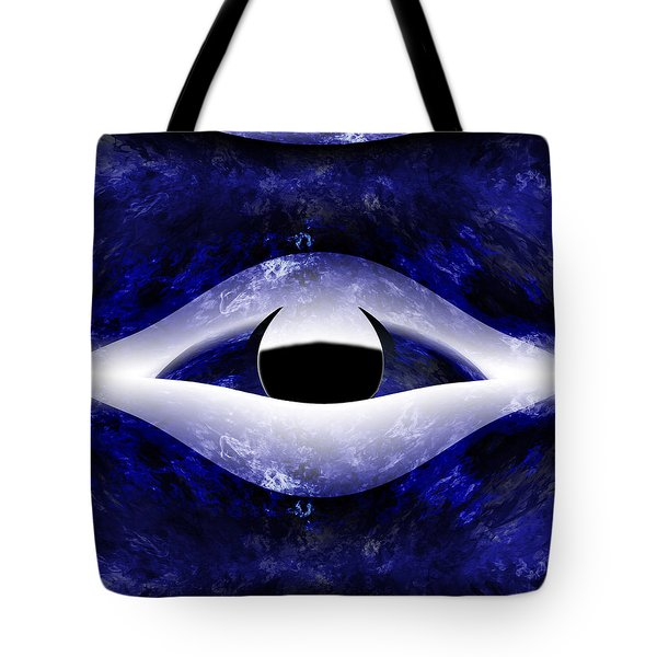 All Seeing Eye Tote Bag by Christopher Gaston