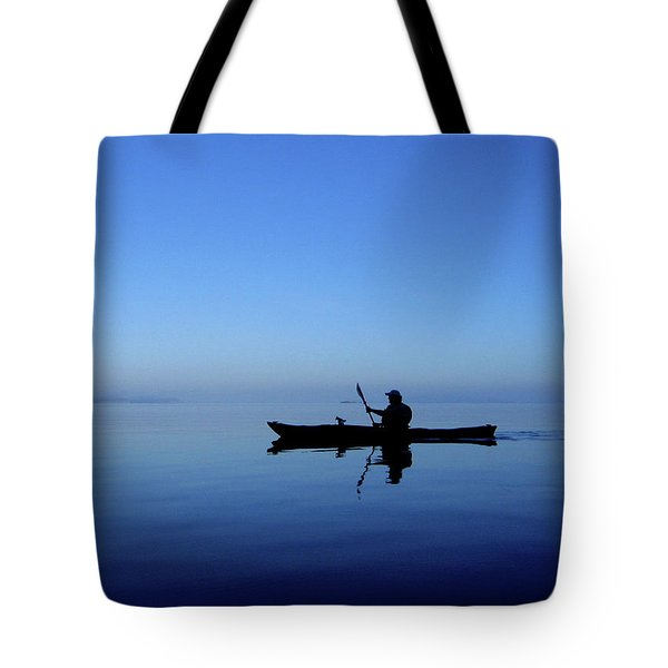 Serenity Surrounds Tote Bag