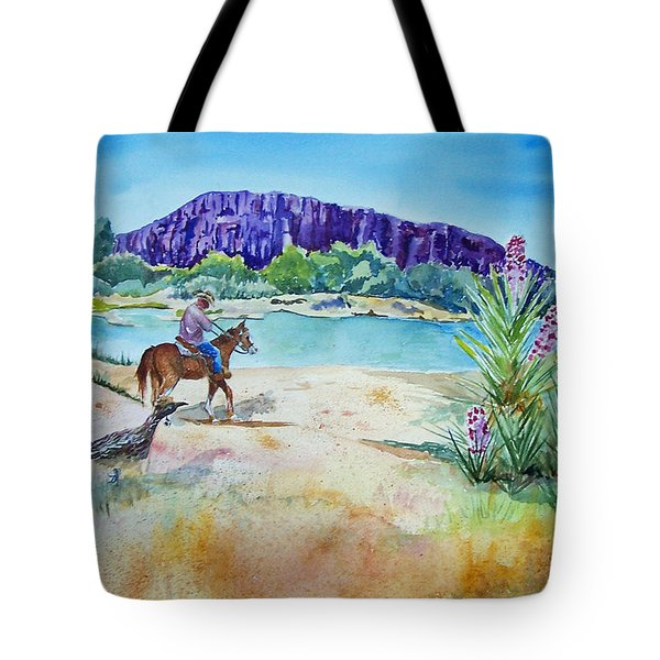 Texas - Along The Rio-grande Tote Bag