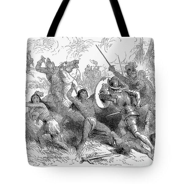 Alonso De Ojeda (1465?-1515) Tote Bag by Granger