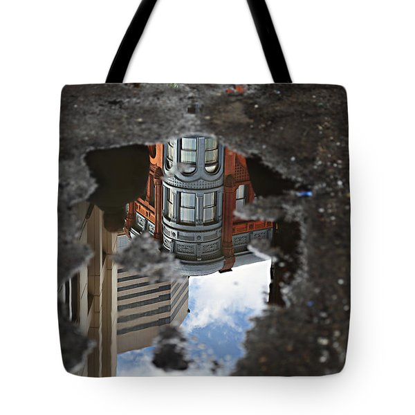 Always Look Down Tote Bag