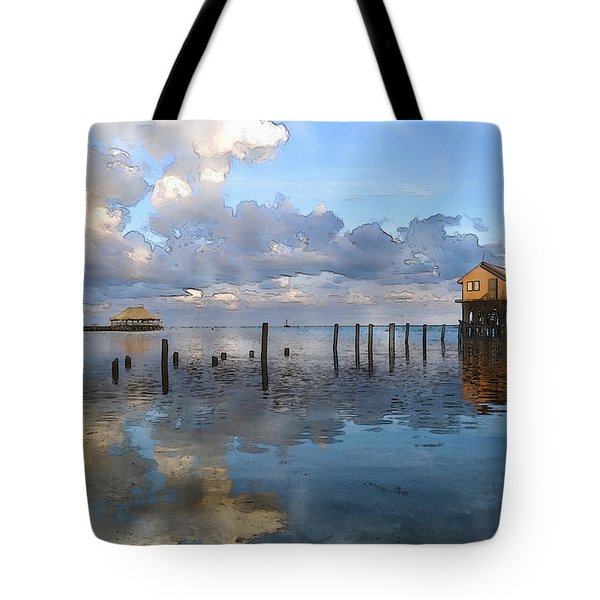 Ambergris Caye Belize Tote Bag
