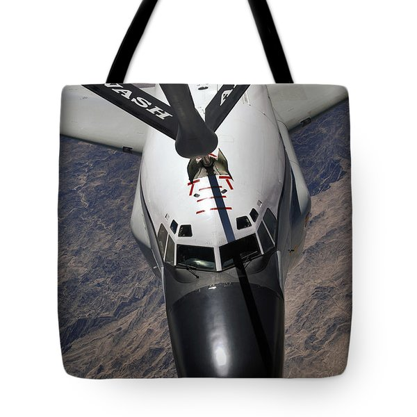 An Rc-135 Rivet Joint Reconnaissance Tote Bag by Stocktrek Images