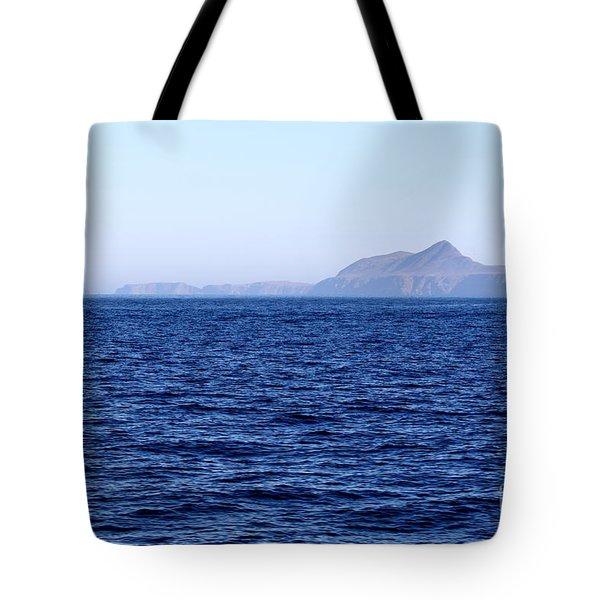 Anacapa Island Tote Bag by Henrik Lehnerer