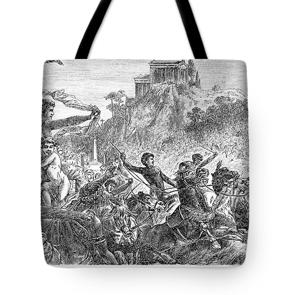 Ancient Olympic Games Tote Bag by Granger